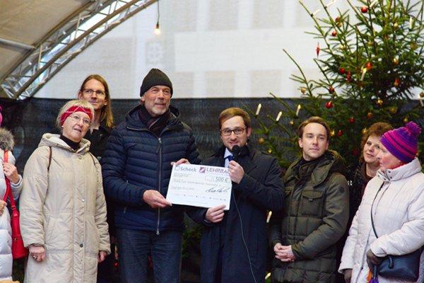 Spende für den Seniorengarten Traunreut