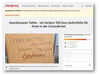 Tafeln Petition